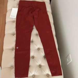 "Lululemon Fast and Free HR 25"" Magma NWT 4"